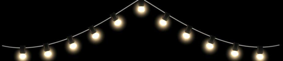 Rekkebelysning og lyspærer